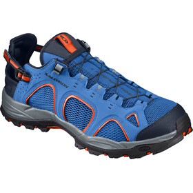 Salomon M's Techamphibian 3 Shoes nautical blue/navy blazer/flame